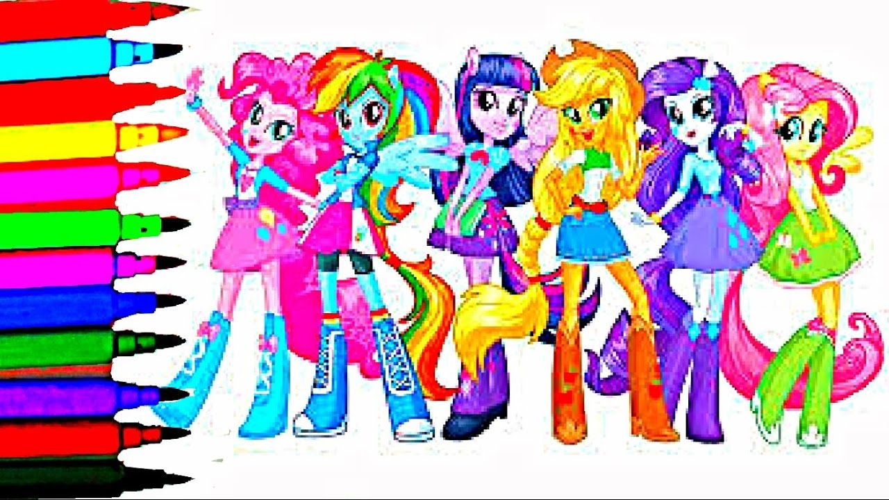 list of equestria girls characters my little pony - 812×466
