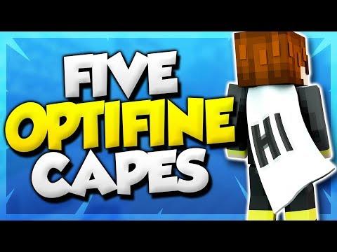 5 Optifine Cape Designs! (Best Minecraft Cape Designs)