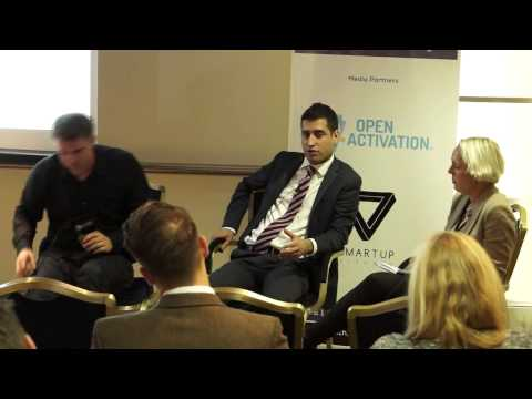 British Born Kurdish Laween Atroshi speaks at the Exclusive Digital Marketing Innovation Summit, LDN