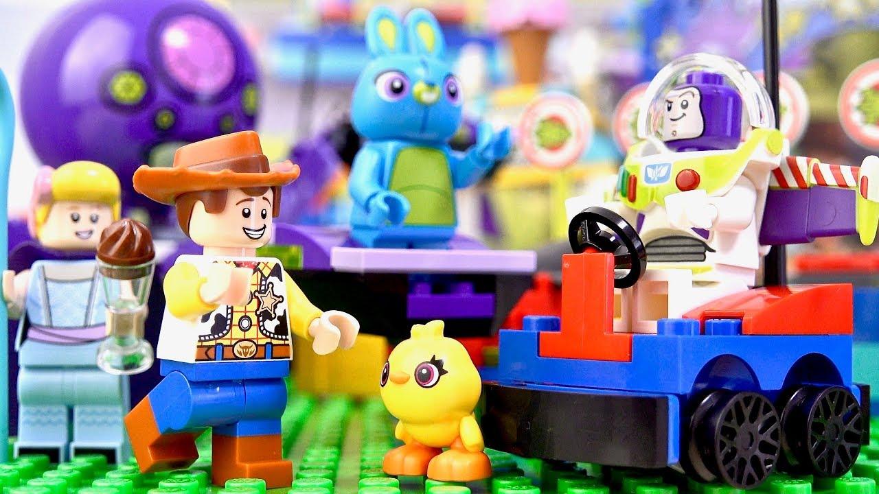 Lego Toy Story 4 10770 Buzz Woody S Carnival Mania Disney Pixar