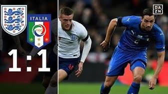 Three Lions schenken Sieg her: England - Italien 1:1 | Highlights | Länderspiele | DAZN