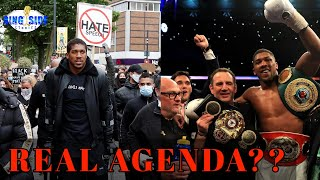 Anthony Joshua's REAL AGENDA??? - Black Lives Matter BLM [MUST WATCH!]