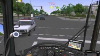 Omsi gameplay - 100 km/h