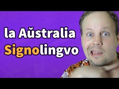 Auslan - A History and Grammar | la aŭstralia signolingvo