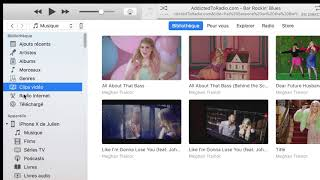 iTunes : Ecouter des radios internet et des radios nationales
