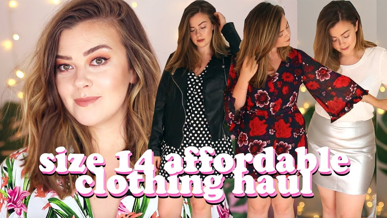7023578f7962 AFFORDABLE SUMMER CLOTHING JUSTFAB HAUL - SIZE 14 | LUCY WOOD - YouTube
