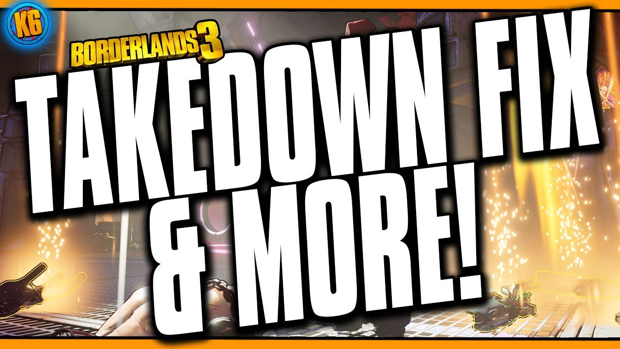 MALIWAN TAKEDOWN FIX & MORE!! - Hotfix/Patch Notes January 9, 2020 [Borderlands 3] thumbnail