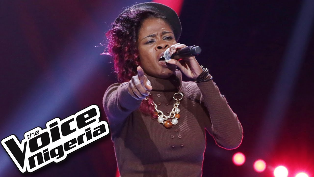 """Download Shapera Makepeace sings """"Bad Romance"""" / Blind Auditions / The Voice Nigeria Season 2"""
