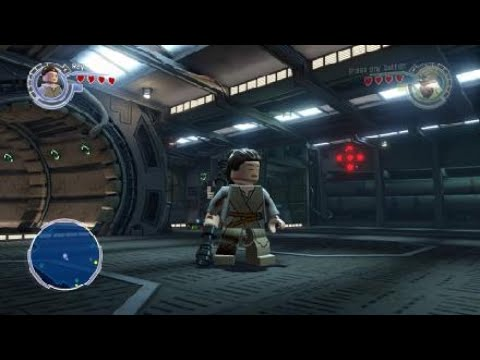 Rey playable character (Lego Star Wars The Force awakens) |