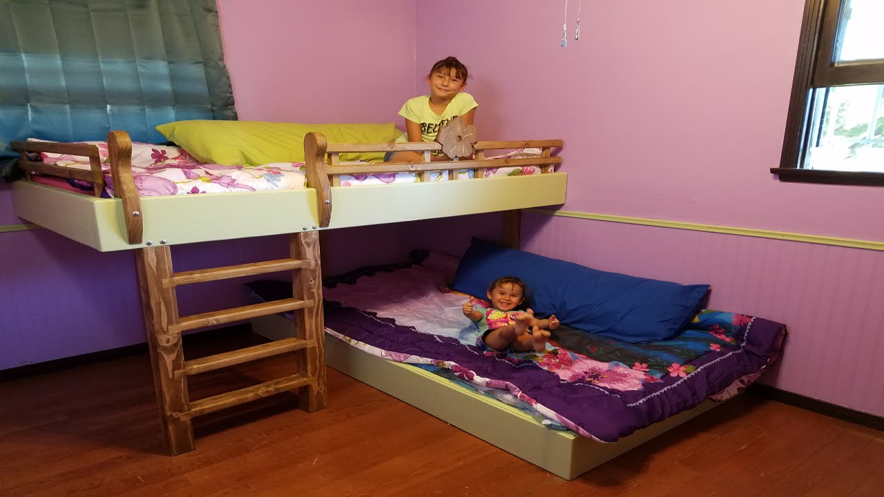 Diy Bunk Beds Youtube