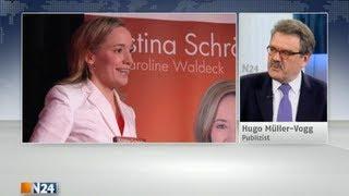 Schröder und ihr Bild der Frau - Hugo Müller-Vogg spricht Klartext   18.04.12