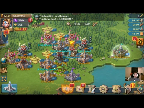 Lords Mobile - Rally Trap Breakdown & Bonus Random Rallies, Lol