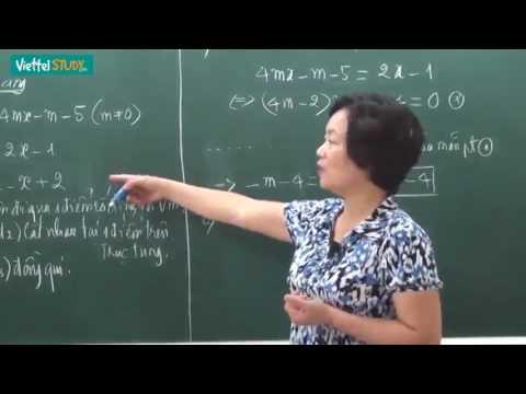 Bài tập về đường thẳng và parabol Luyện thi lớp 10 môn Toán học