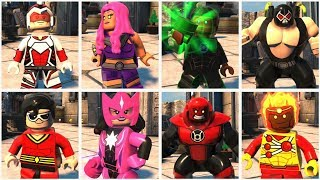All File Finder Locations in LEGO DC Super Villains (Hub World Hidden Characters)