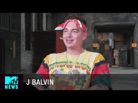 J Balvin Talks Beyoncé Covering 'Mi Gente' | MTV News