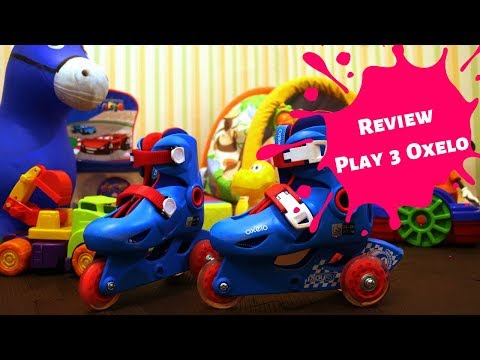 Review do patins infantil - Play 3 - Oxelo