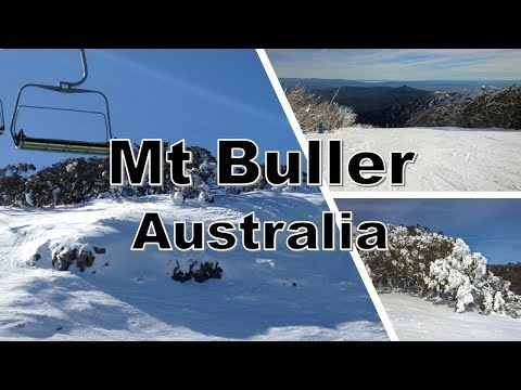 Skiing Mt Buller - Victoria - Australia
