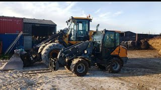 "The Farms New ""Giant"" Loading Shovel"