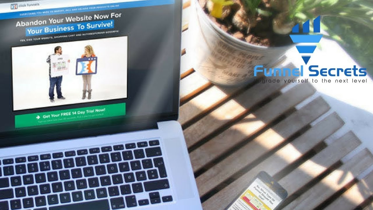Clickfunnels review & demo: Squeeze page builder example