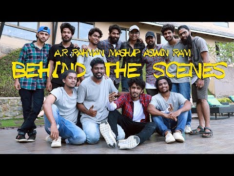 Behind The Scenes of A. R. Rahman Mashup (16 Songs - One Take) | Aswin Ram