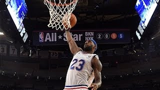 Lebron James Leads East, Scores 30 in 2015 All-Star Game