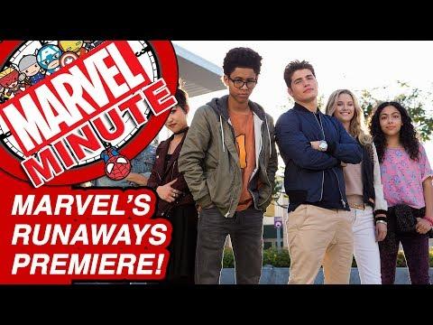 Marvel's Runaways Premiere & More! – Marvel Minute 2017