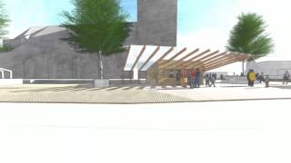 Animatie ontwerp kerkplein te Dalfsen