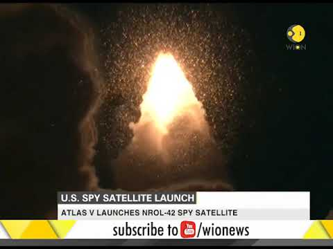 Classified U.S. spy satellite launched from California