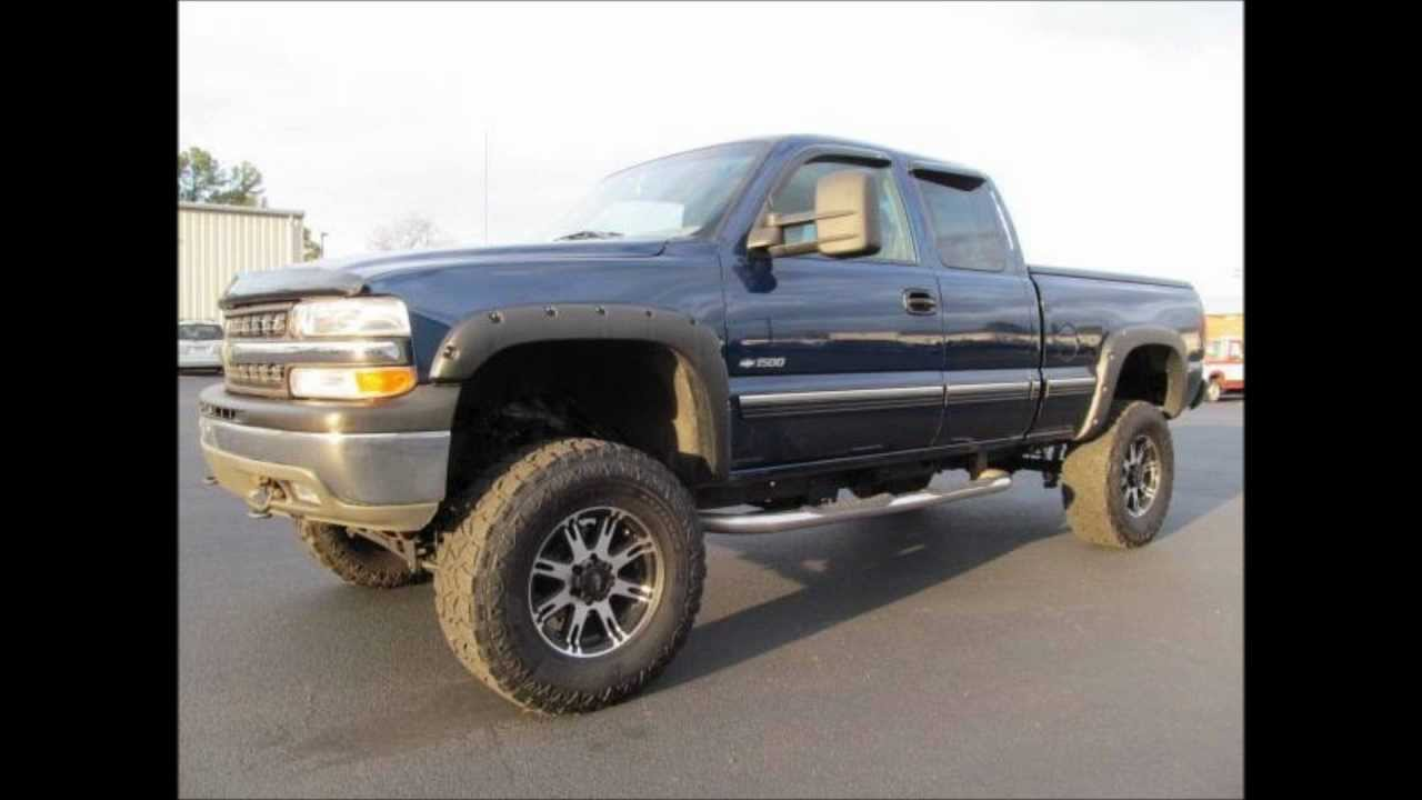2000 chevrolet silverado 1500 lt lifted truck for sale youtube. Black Bedroom Furniture Sets. Home Design Ideas