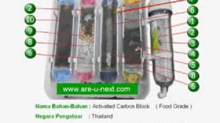 Penapis Air Imtiyaaz SE - Keratan Rentas(crossection) Tabung Penapis