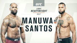 UFC Flashback | Santos v Manuwa | UFC Fight Week