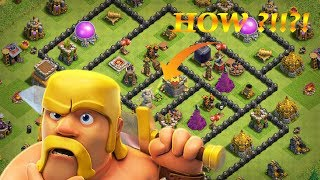 HOW TO GET GEM BOX EXACTLY IN THE MIDDLE OF THE BASE!! - 100% WORKING | CLASH OF CLANS