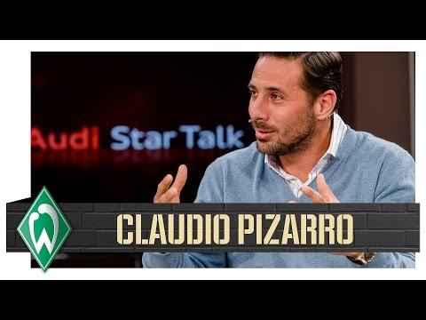 """""""Fühle mich schon deutsch!"""" I Claudio Pizarro beim Audi Star Talk"""