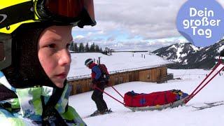 Abseilen, bergen, sichern - Tobi bei der Bergrettung | Dein großer Tag | SWR Kindernetz