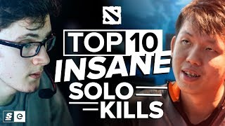 The Top 10 Most Insane Solo Kills in Dota 2