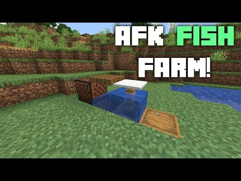 Minecraft AFK Fishing Farm Tutorial