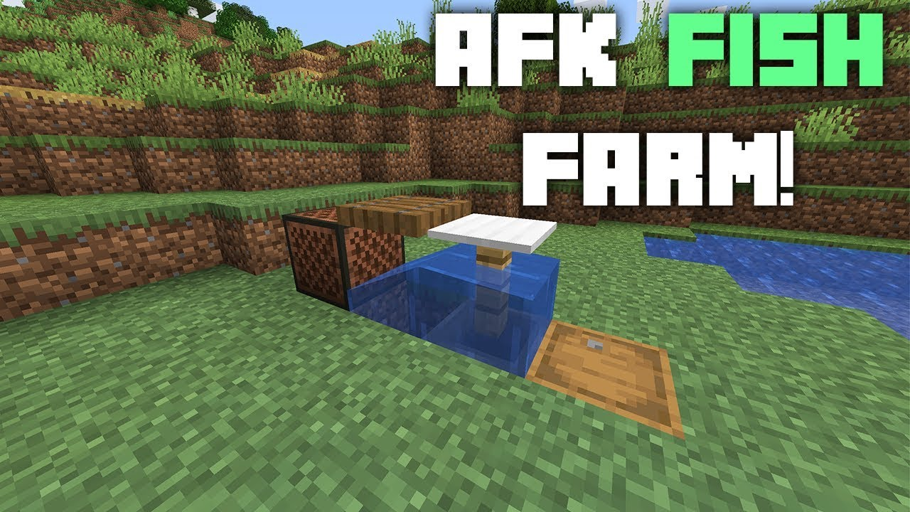 Auto Fish Farm Minecraft - Polkie Island