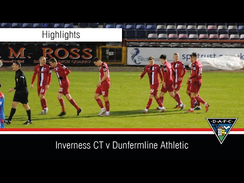 Inverness CT Dunfermline Goals And Highlights