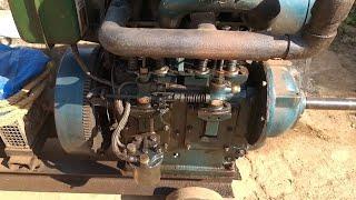 Twin Cylinder 10 HP Air Cooled 12KVA DG Set