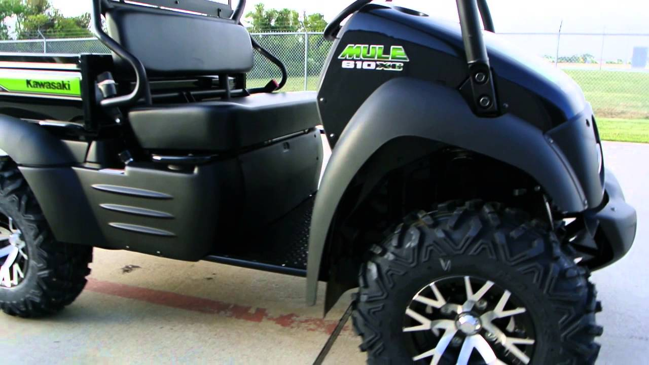 Kawasaki Mule 610 Xc Special Edition With Alloy