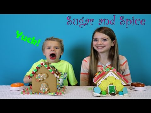 Sugar and Spice Gingerbread Challenge
