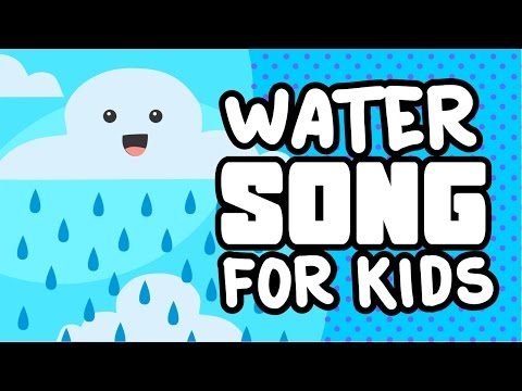 Water Song for Kids  Nursery Rhymes for Children