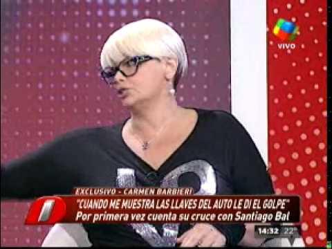 """Carmen Barbieri: """"Las palabras de Santiago son cuchilladas"""""""