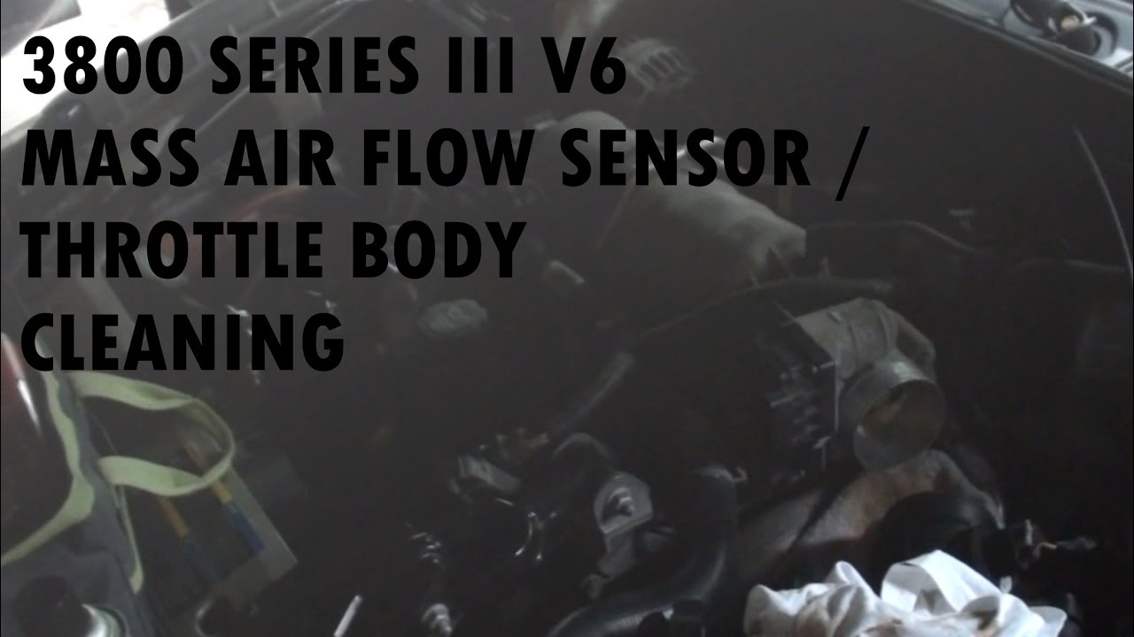 mass air flow sensor & throttle body cleaning (2008 pontiac grand prix) -  youtube