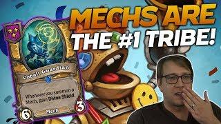 Mechs are NUMBER ONE! | Hearthstone Battlegrounds | Savjz