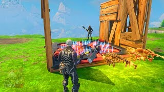Trap Kills Players... Funny Scammer Loses Rare Guns in Fortnite Save The World