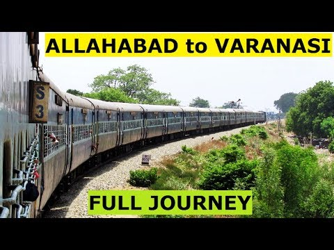 ALLAHABAD to VARANASI (Via Gyanpur) - FULL JOURNEY || Single Line DIESEL SECTION !!