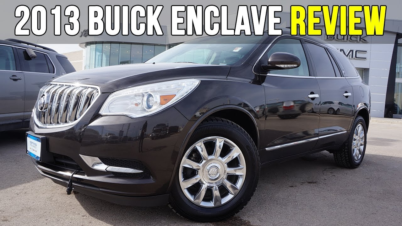 2013 buick enclave | dual sunroof, dvd, bose (in-depth review)