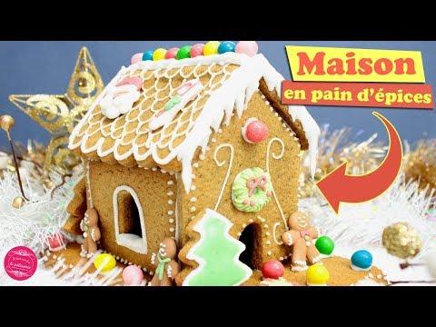 🏡 TUTO MAISON EN PAIN D'EPICES ! Recette de Noël 🏡