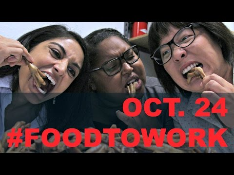 Oct. 24 Take Your Ethnic Food to Work Day (GBC30 News Here First)